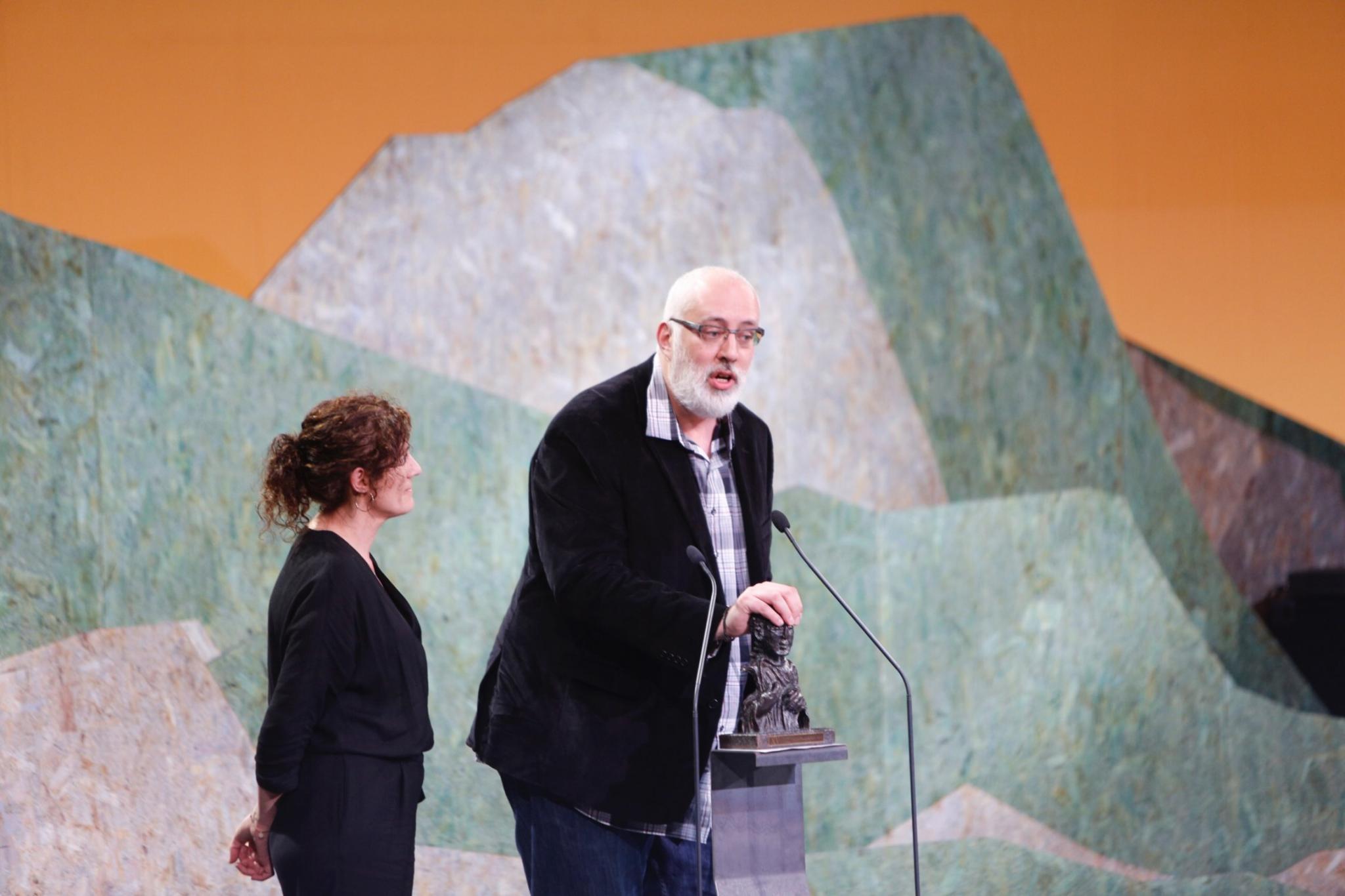 Alberto Guntín, profesor del MPXA y guionista de Voz Audiovisual