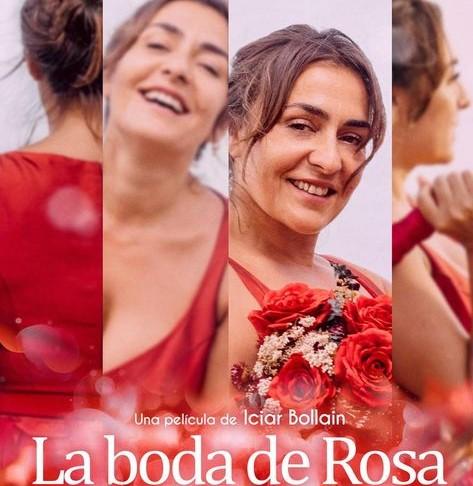 "Cartel ""La boda de Rosa"""